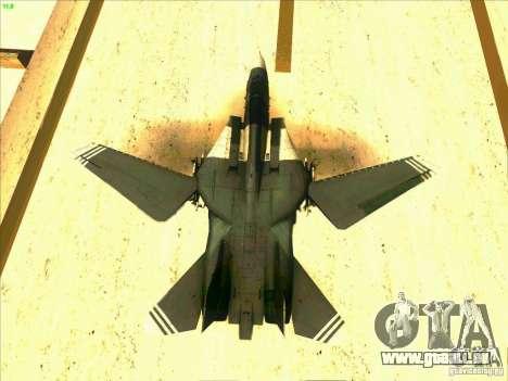 F-14 Tomcat Schnee für GTA San Andreas Innen