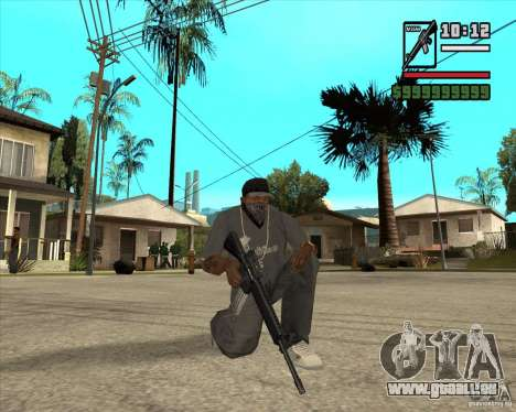 Millenias Weapon Pack für GTA San Andreas zehnten Screenshot