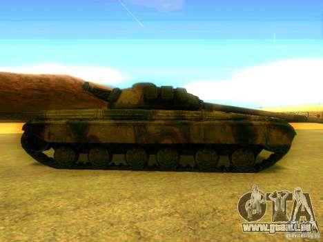 Tank Spiel S. T. A. L. k. e. R für GTA San Andreas linke Ansicht