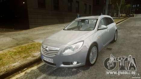 Opel Insignia Sports Tourer 2009 pour GTA 4