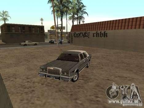 Lincoln Town Car 1986 für GTA San Andreas linke Ansicht