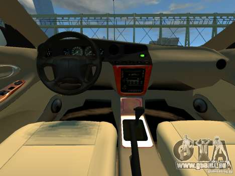Daewoo Leganza CDX pour GTA 4 Vue arrière