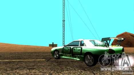 Elegy v0.2 pour GTA San Andreas laissé vue