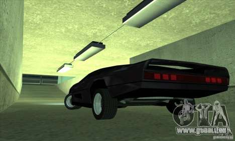 Dodge M4S Turbo Interceptor Wraith 1984 für GTA San Andreas zurück linke Ansicht