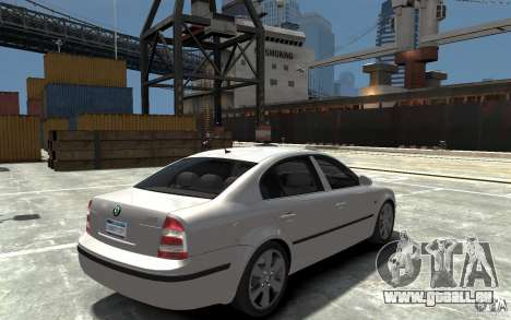 Skoda SuperB für GTA 4 rechte Ansicht