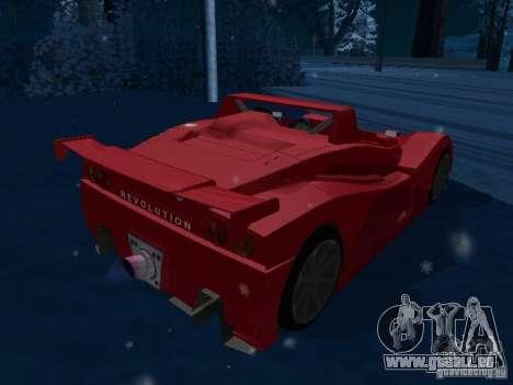 Lada Revolution pour GTA San Andreas sur la vue arrière gauche