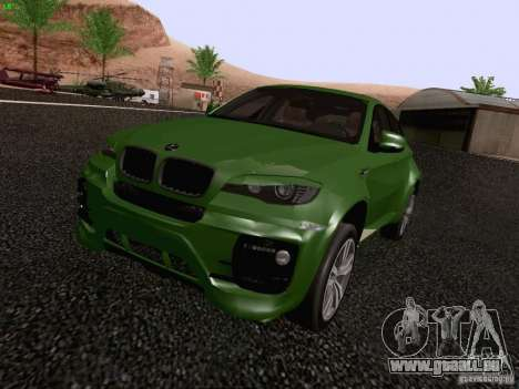 BMW X6 LT pour GTA San Andreas