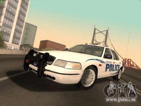 Ford Crown Victoria Vancouver Police für GTA San Andreas