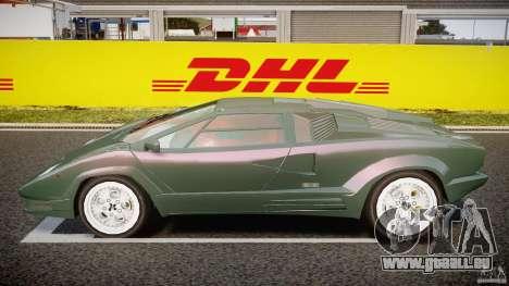 Lamborghini Countach v1.1 pour GTA 4 est une gauche