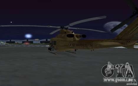 UH-1Y Venom für GTA San Andreas Innenansicht