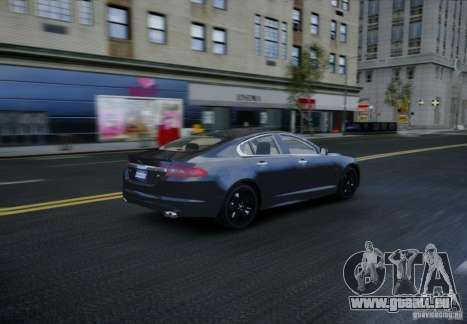 Jaguar XFR 2010 V.2.0 für GTA 4 Seitenansicht