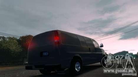 GMC Savana 2500 v1.0 für GTA 4 linke Ansicht