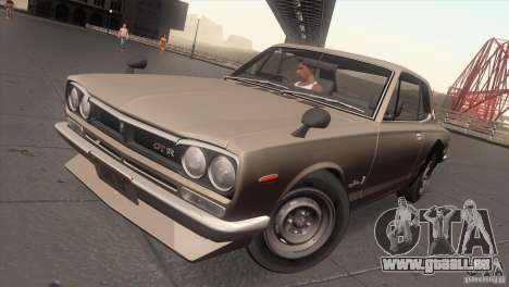 Nissan Skyline 2000 GT-R Coupe für GTA San Andreas