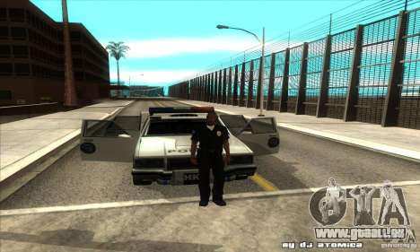 Police Hero v2.1 pour GTA San Andreas vue intérieure