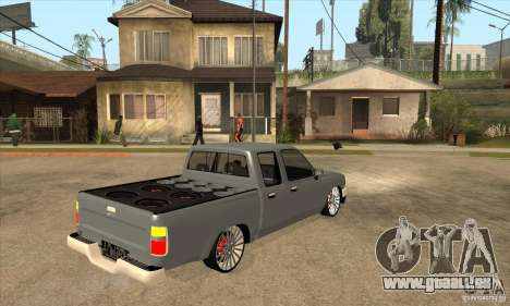 Toyota Hilux 1990 pour GTA San Andreas vue de droite