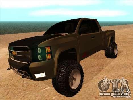 Chevrolet Silverado ZR2 für GTA San Andreas