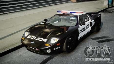 Ford GT1000 Hennessey Police 2006 [EPM][ELS] für GTA 4