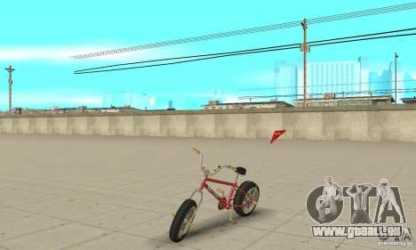 BMX Long 2 New Wheel pour GTA San Andreas