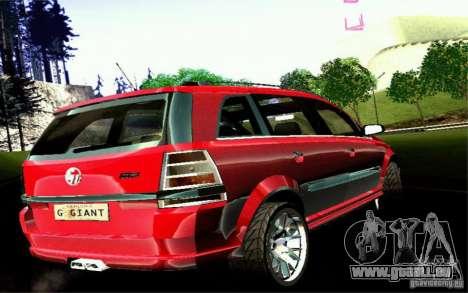 G1 MPV pour GTA San Andreas vue de droite