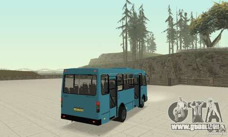 Bogdan A091 für GTA San Andreas Unteransicht