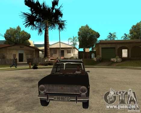 VAZ 2102 für GTA San Andreas Rückansicht