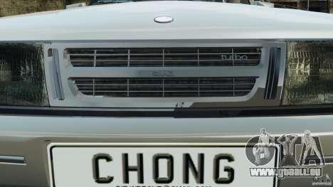 Saab 900 Coupe Turbo für GTA 4-Motor