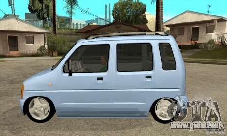 Suzuki Karimun GX pour GTA San Andreas laissé vue