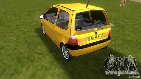 Renault Twingo pour une vue GTA Vice City de la gauche
