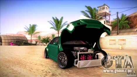 BMW E46 Drift II pour GTA San Andreas sur la vue arrière gauche