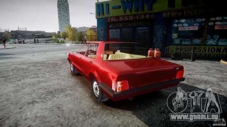 Ford Taunus für GTA 4 hinten links Ansicht