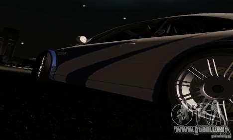 BMW M3 GTR pour GTA San Andreas salon