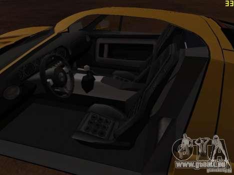 Ford GT pour GTA San Andreas vue arrière