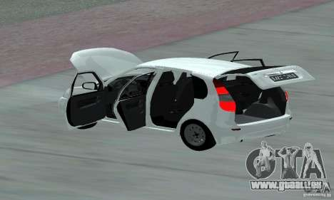 Lada Kalina Hatchback Stock pour GTA San Andreas vue de côté
