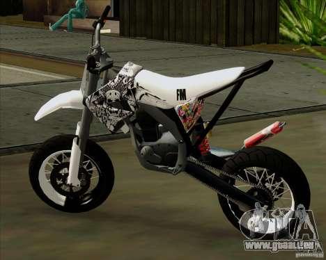 Honda 50 Tuned Stunt für GTA San Andreas linke Ansicht