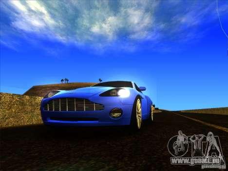 Aston Martin V12 Vanquish V1.0 für GTA San Andreas