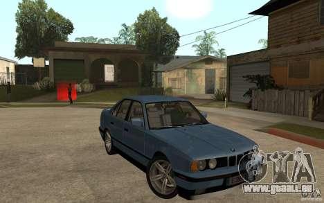 BMW E34 535i 1994 pour GTA San Andreas vue arrière