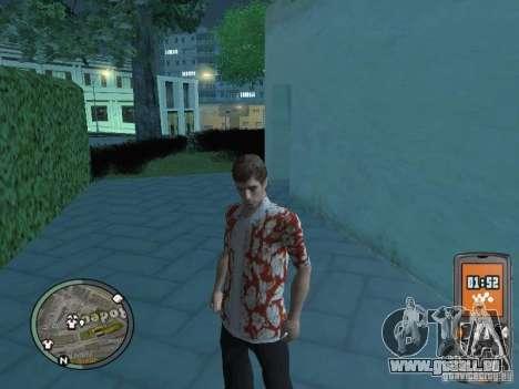 Tony Montana pour GTA San Andreas sixième écran
