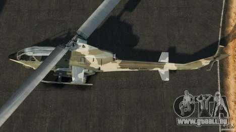 Bell AH-1 Cobra pour GTA 4 est un droit