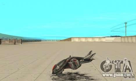 MOSKIT pour GTA San Andreas laissé vue