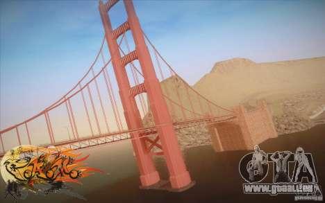 New Golden Gate bridge SF v1.0 pour GTA San Andreas deuxième écran