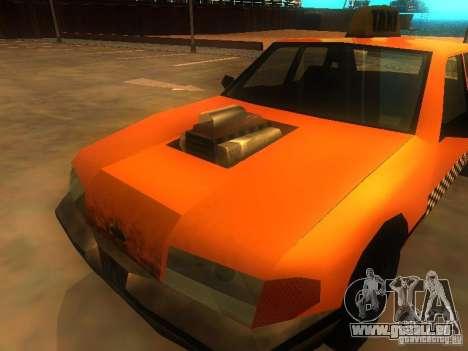 Crazy Taxi für GTA San Andreas Rückansicht