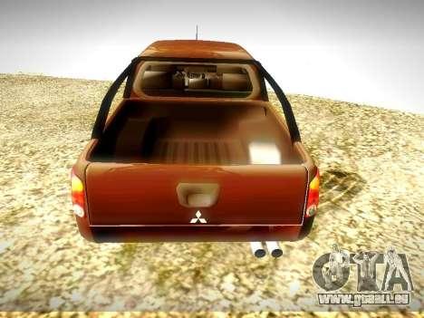 Mitsubishi L200 Stock pour GTA San Andreas vue de droite
