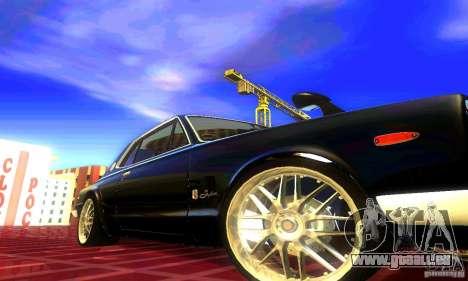 Nissan Skyline 2000-GTR pour GTA San Andreas sur la vue arrière gauche