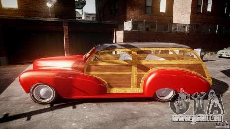 Chevy Fleetmaster Woody Kustom 1948 pour GTA 4 est une vue de l'intérieur