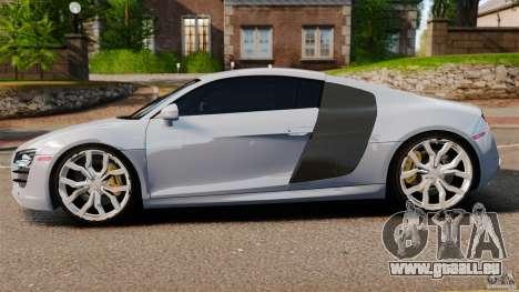 Audi R8 5.2 Stock 2012 Final pour GTA 4 est une gauche