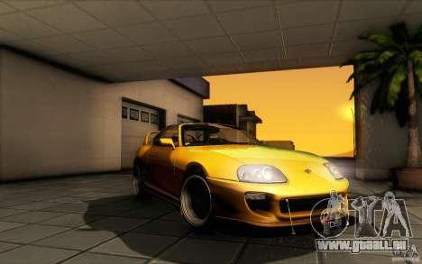 Toyota Supra D1 1998 für GTA San Andreas Seitenansicht