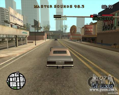 New Fonts für GTA San Andreas dritten Screenshot