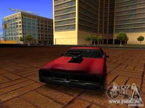 Charger Sabre pour GTA San Andreas vue de droite