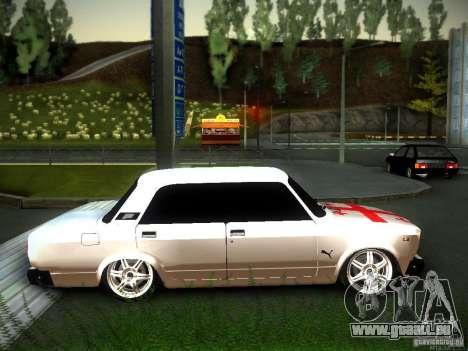 VAZ 2107 Géorgie pour GTA San Andreas vue de droite