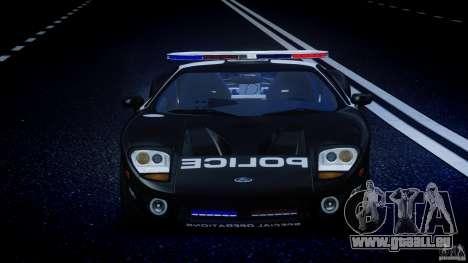 Ford GT1000 Hennessey Police 2006 [EPM][ELS] für GTA 4 Innen